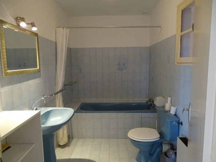 Location de vacances - Gîte à Louslitges - Salle de bains
