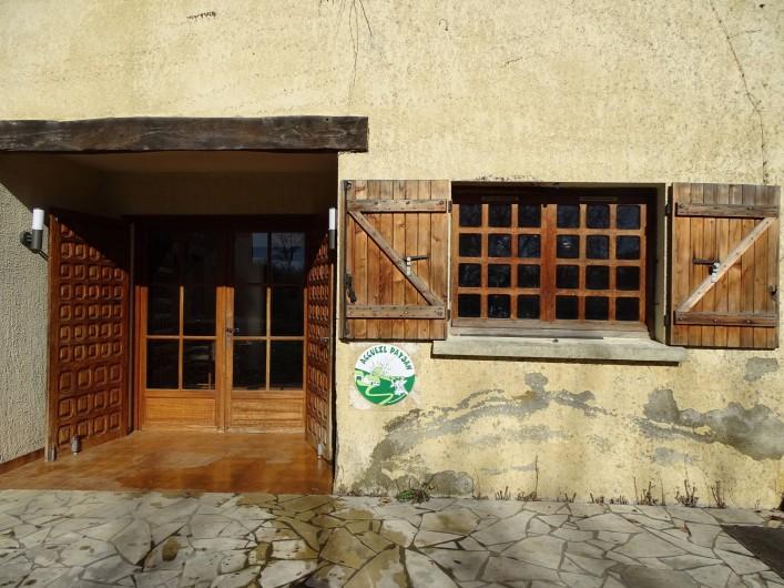Location de vacances - Gîte à Louslitges - Gîte entrée